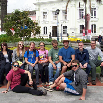 University Group, Otavalo, Ecuador